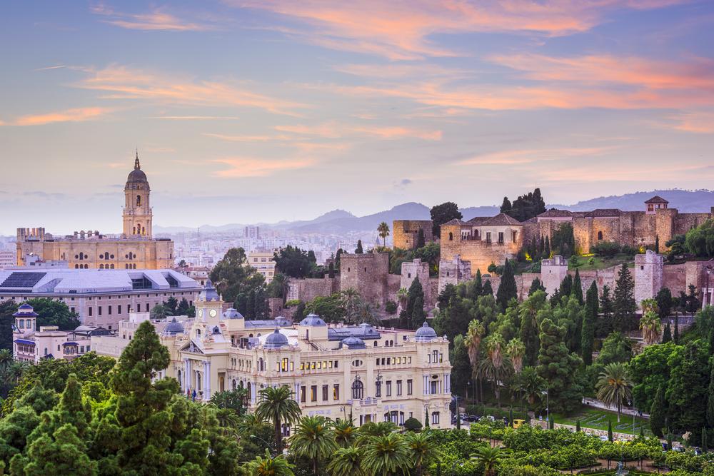 Málaga Španělsko