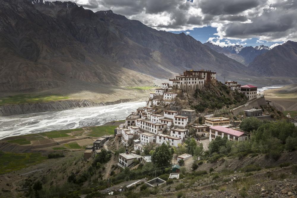 Jedinečná 3D prohlídka buddhistického kláštera Ki v indických Himálájích