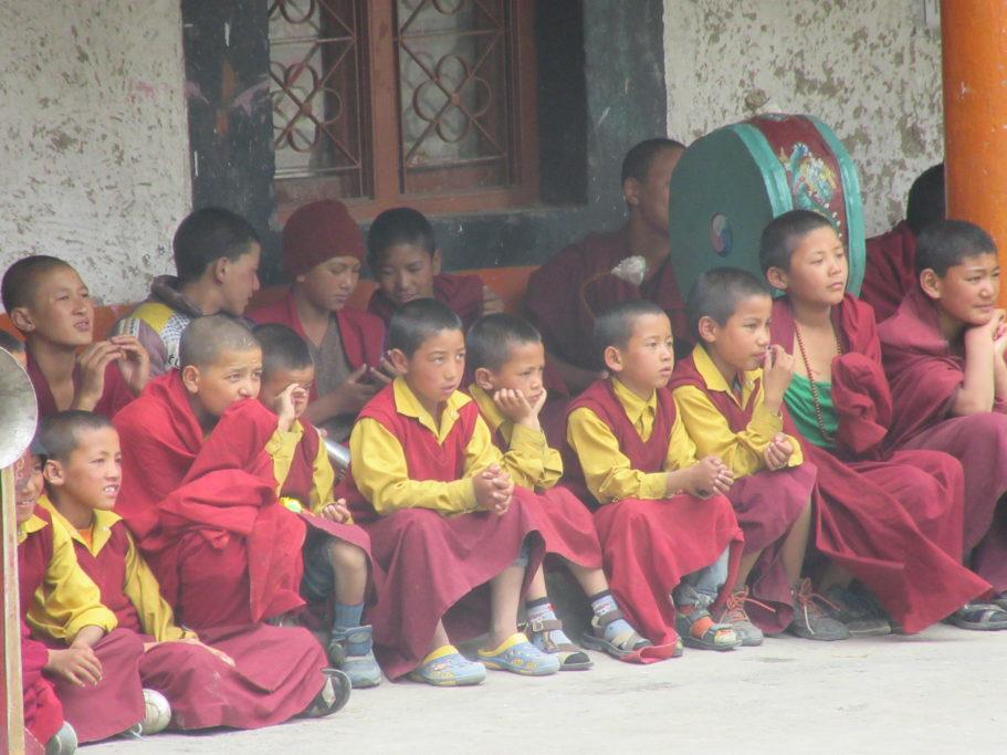 buddhističtí mnichové chrám Ki