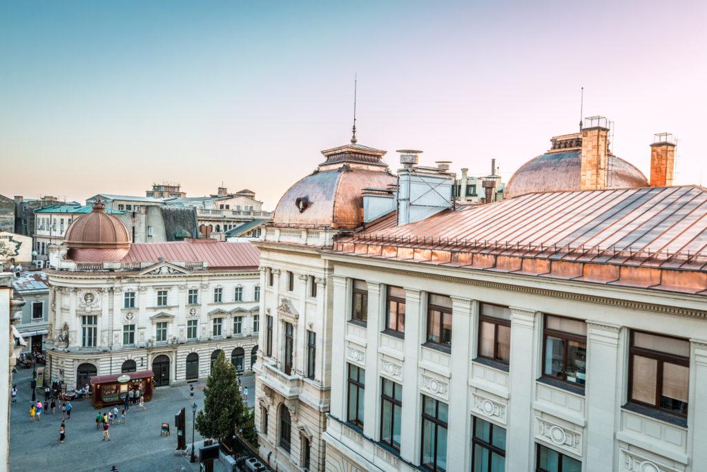 Praha–Bukurešť: Svět v jedné cestě