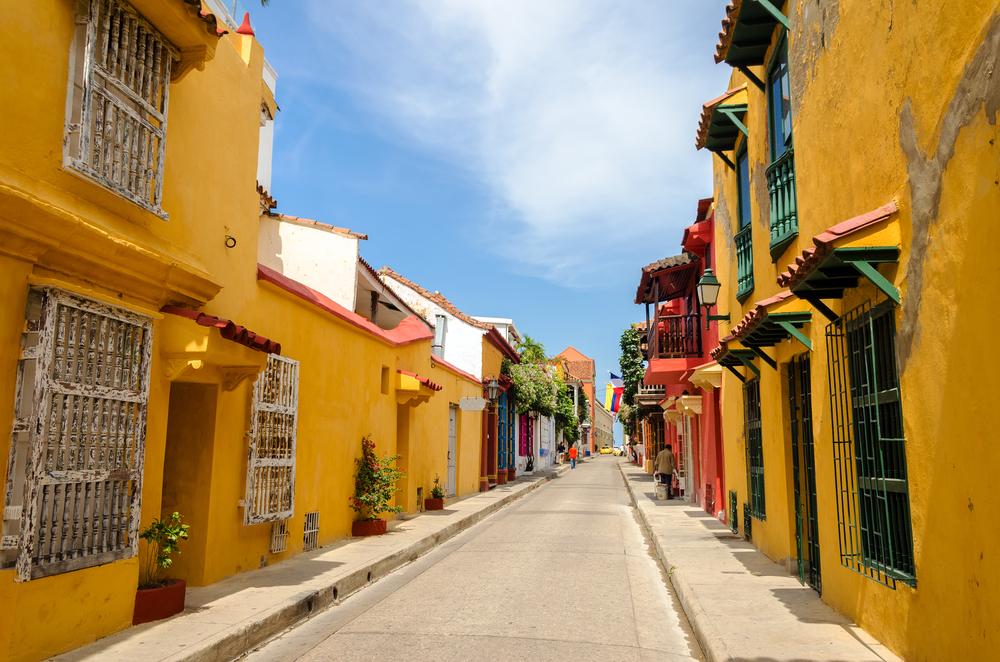 staré ulice Cartageny