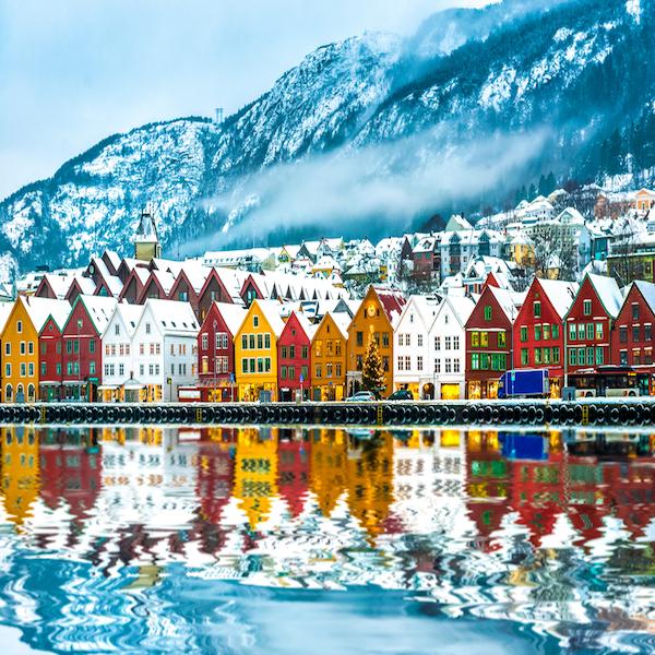 Bergenský Bryggen