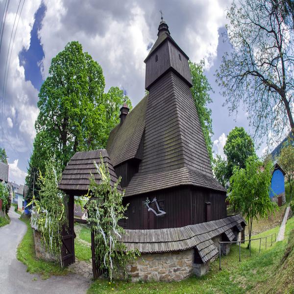 Dřevěné kostely Slovensko