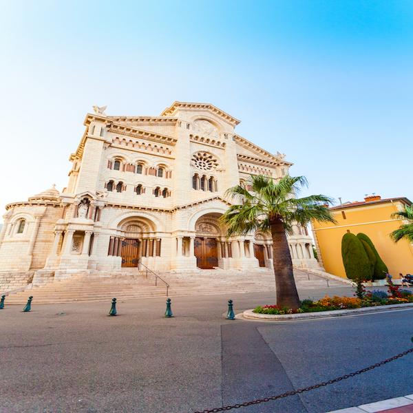 Katedrála v Monaku