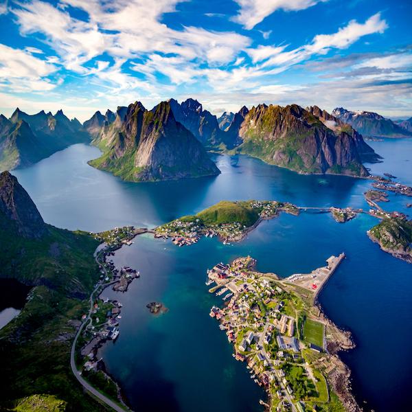 Lofoty Norsko