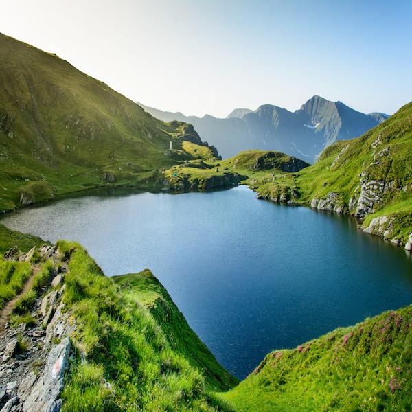 Údolí Arges Rumunsko