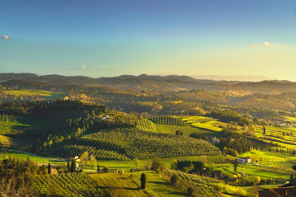 Via Francigena Itálie