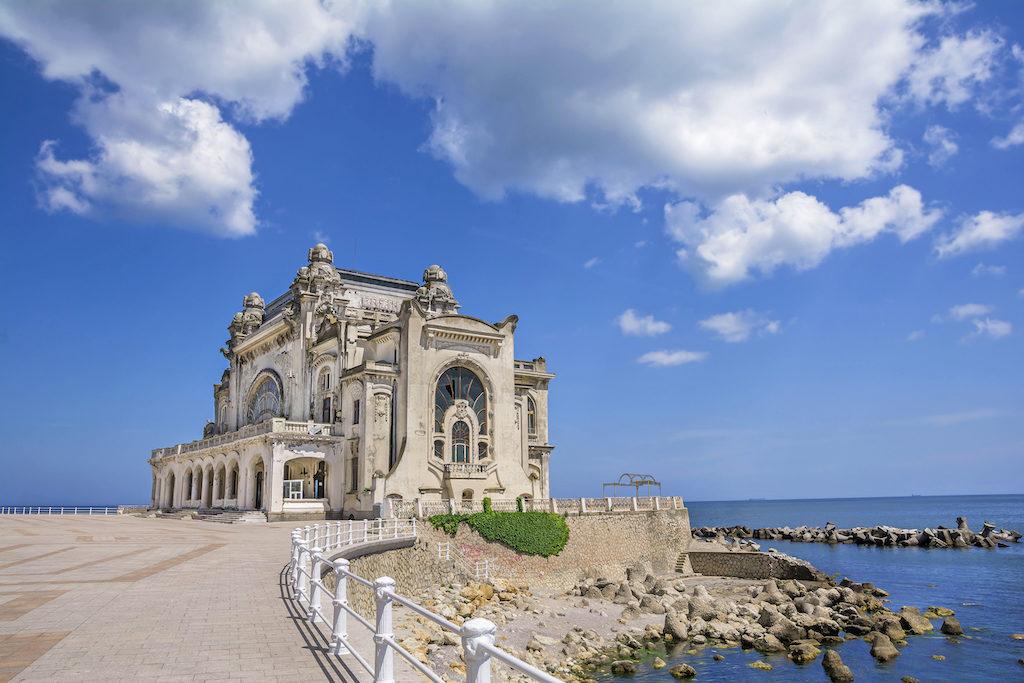 Rumunské pobřeží, pobřeží s osobností