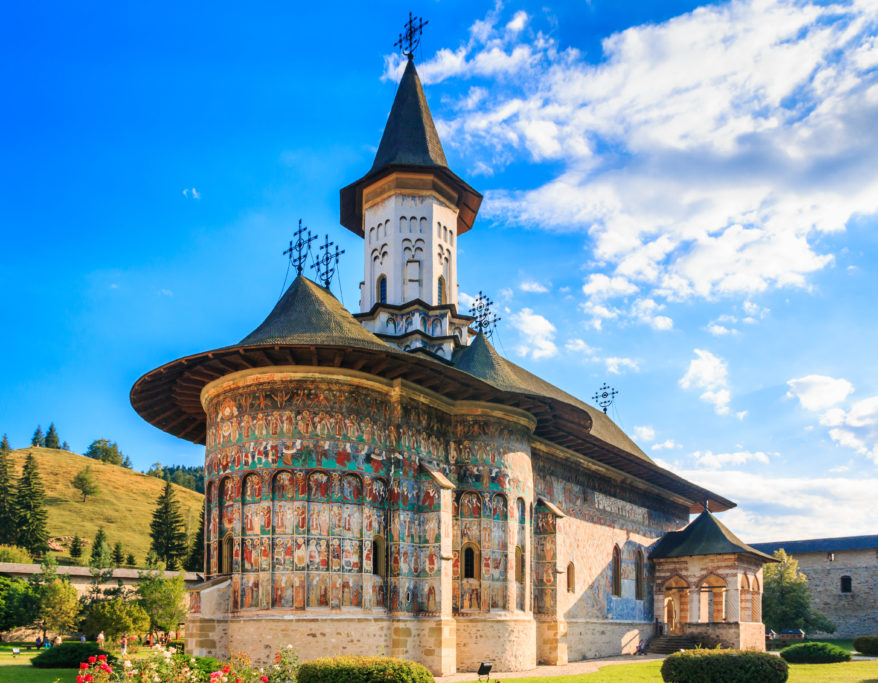 The Sucevita Monastery, Romania