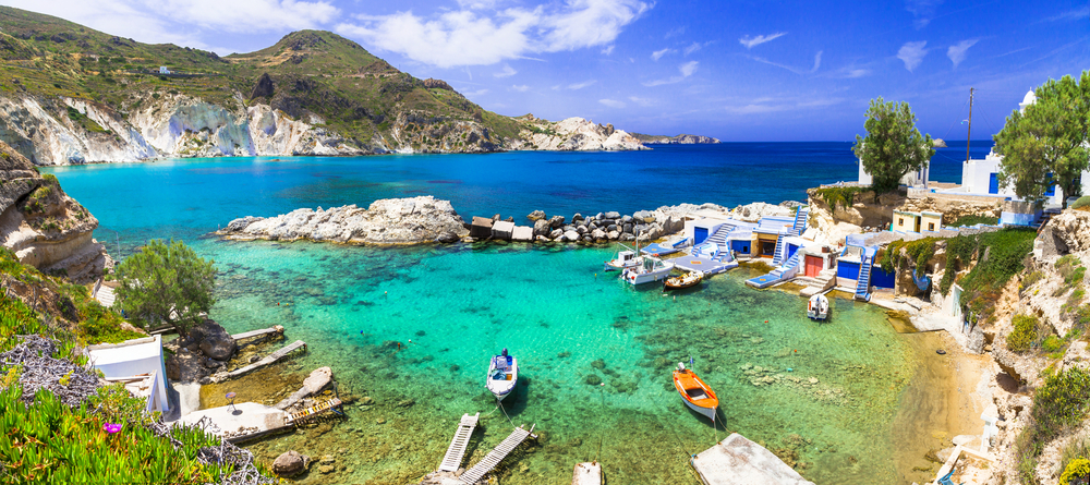 Mílos, Řecko