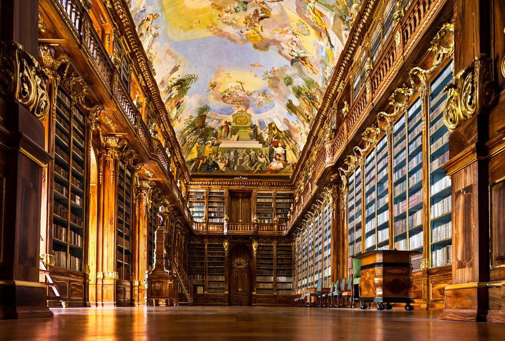 Knižní malebnost: 7 nejvíce ohromujících knihoven v Evropě
