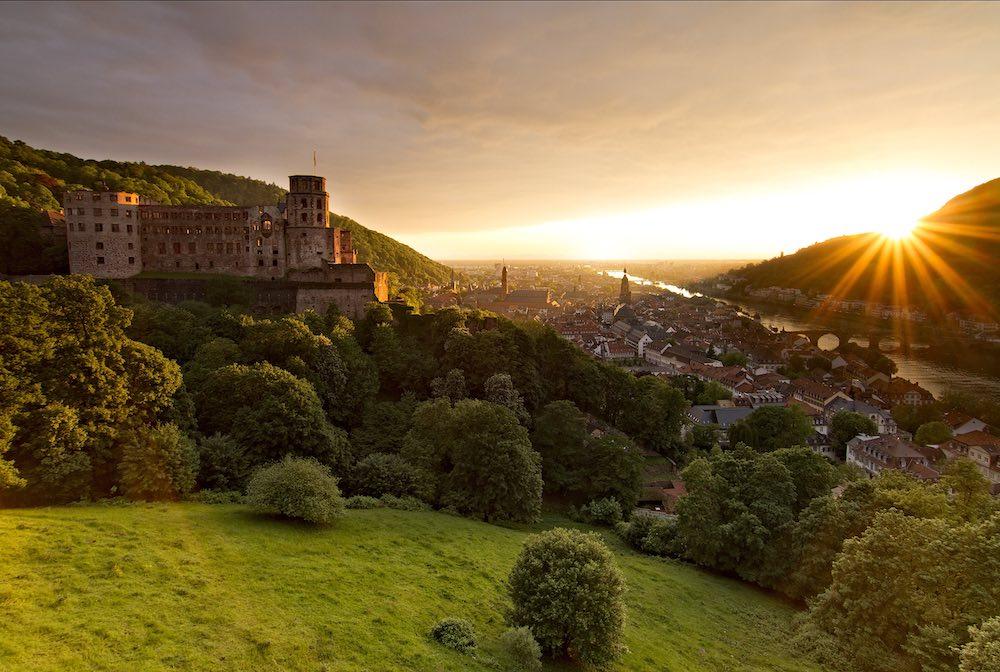 Zámek v Heidelbergu