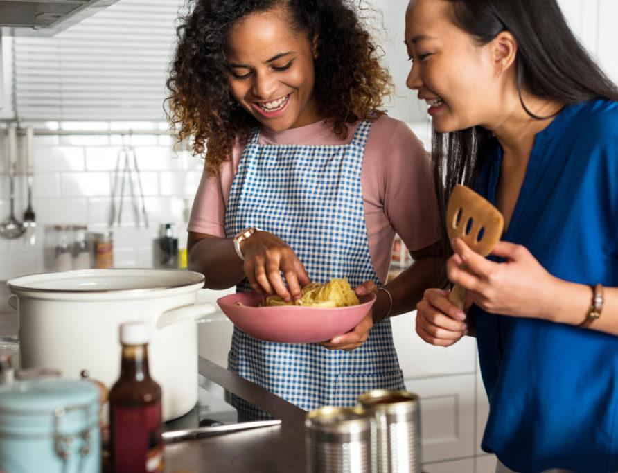 připravte společné jídlo