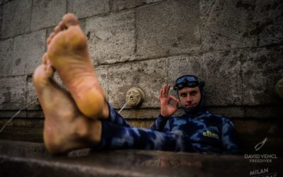 Rozhovor s Davidem Venclem o projektu Street freediving v centru Teplic