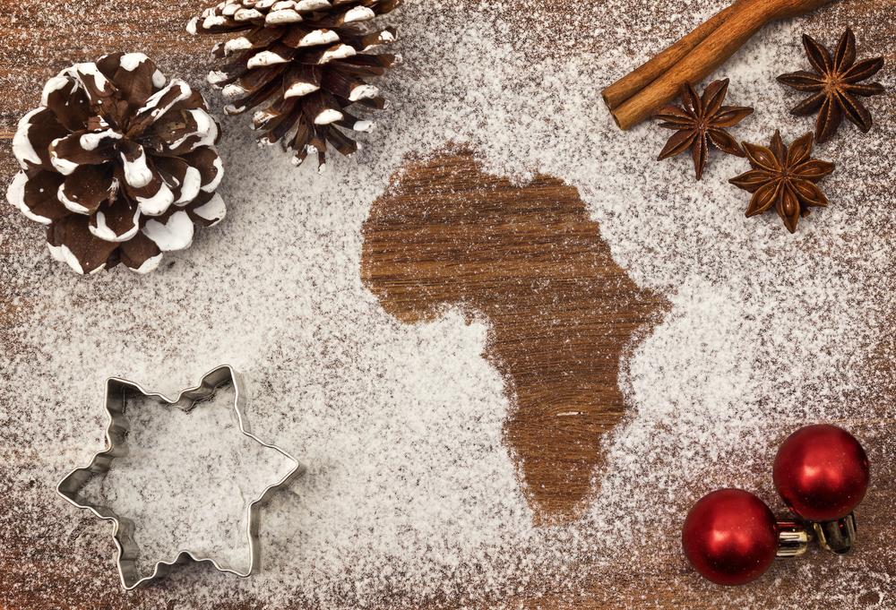 Vánoce v Africe