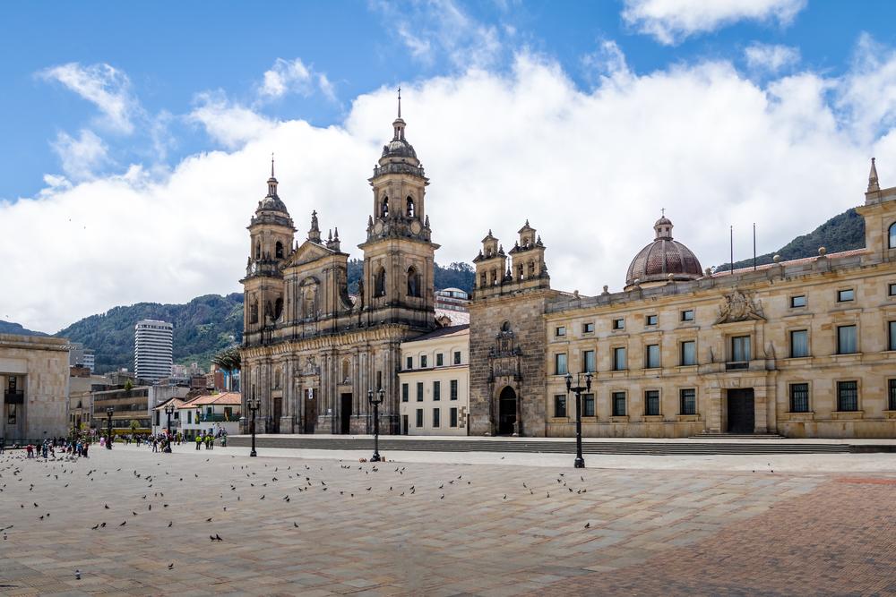 náměstí Bolívar Bogota