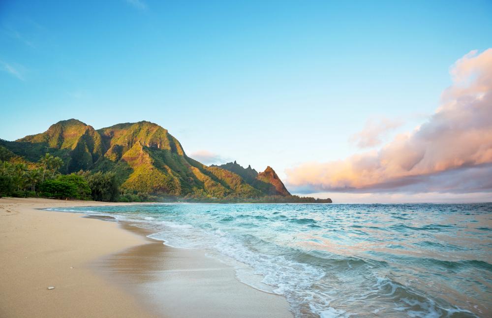 Kauai pláž