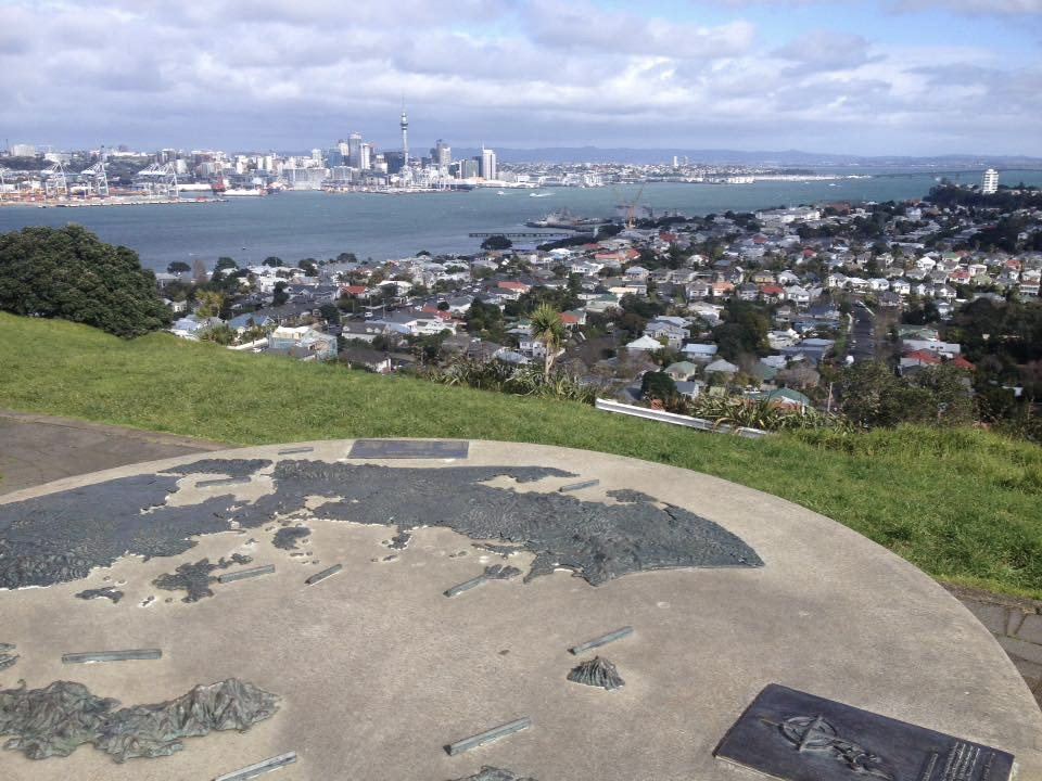 Auckland výhled