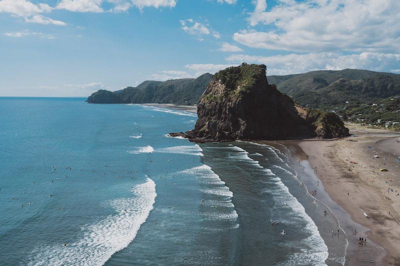 Auckland pláž