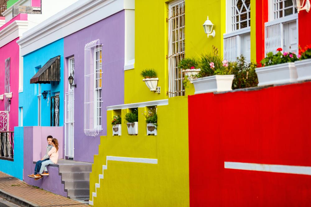 Bo-Kaap Kapské město