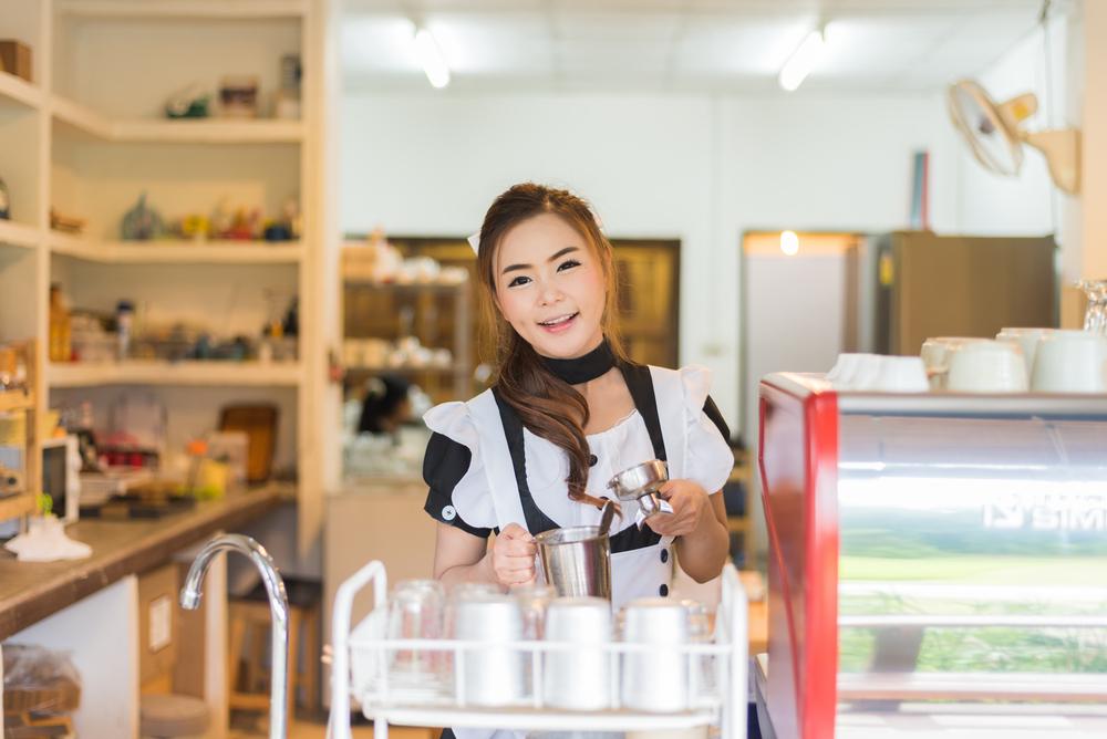 Japonská kavárna s obsluhou