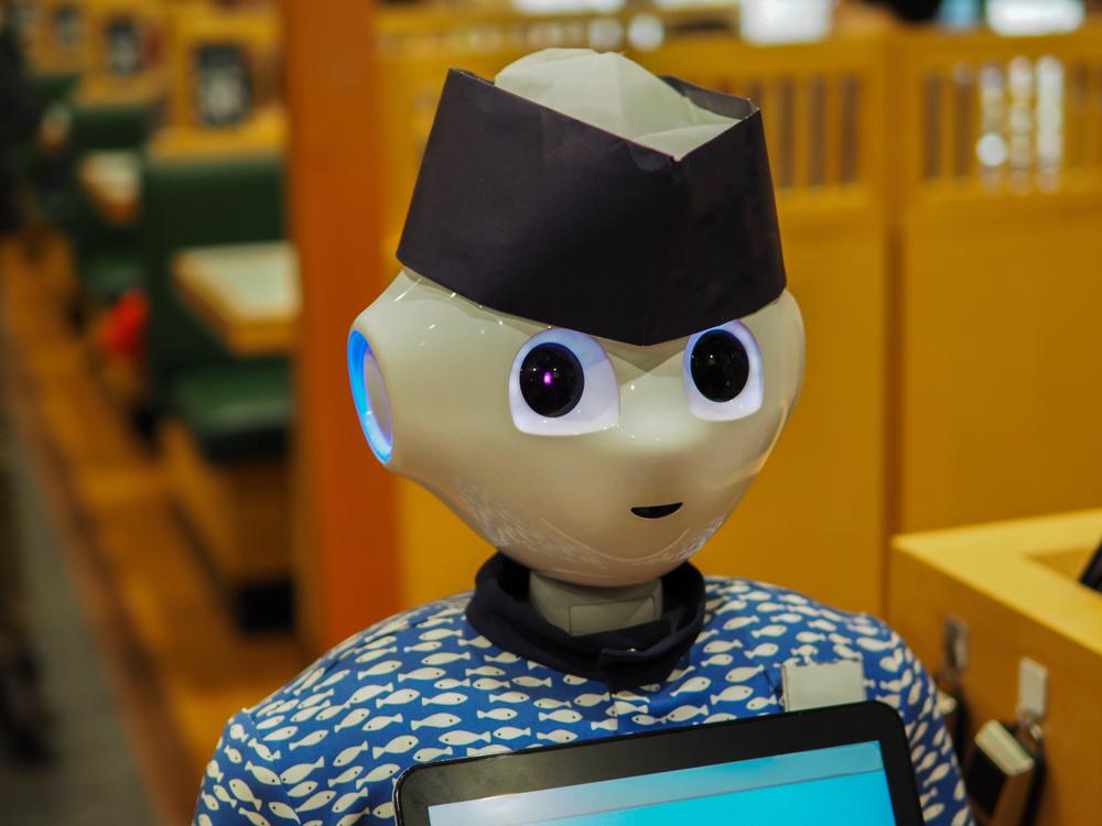 Japonská restaurace s robotem