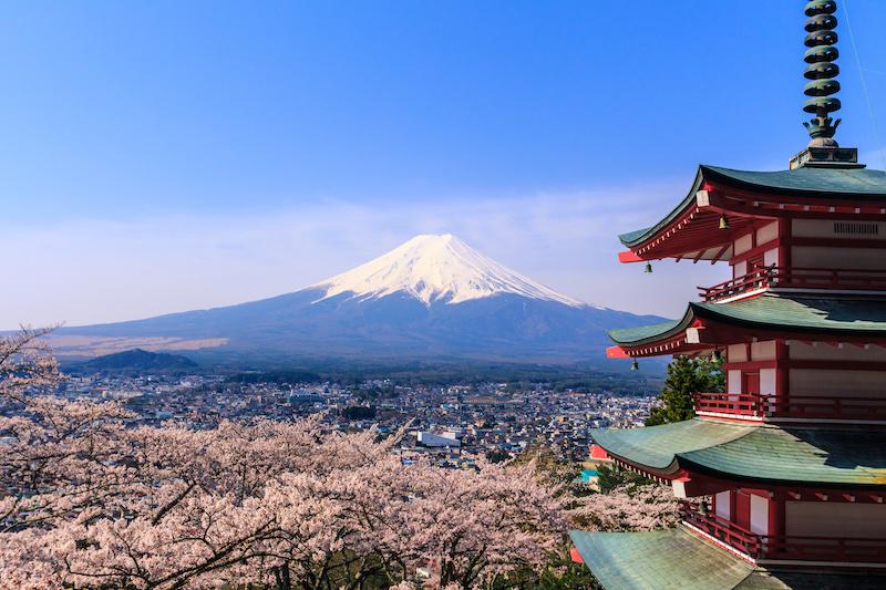 Japonsko fuji