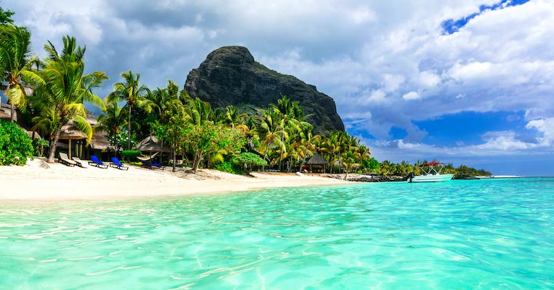 Mauricius pláž