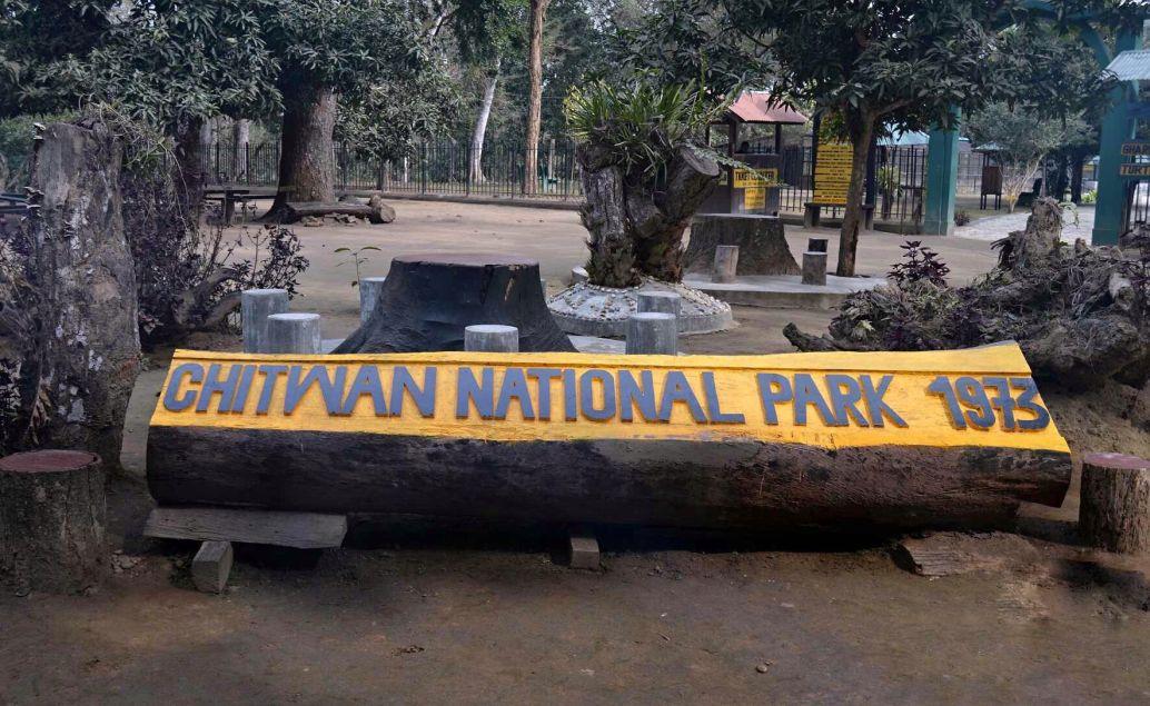 pěší safari NP Chitwan