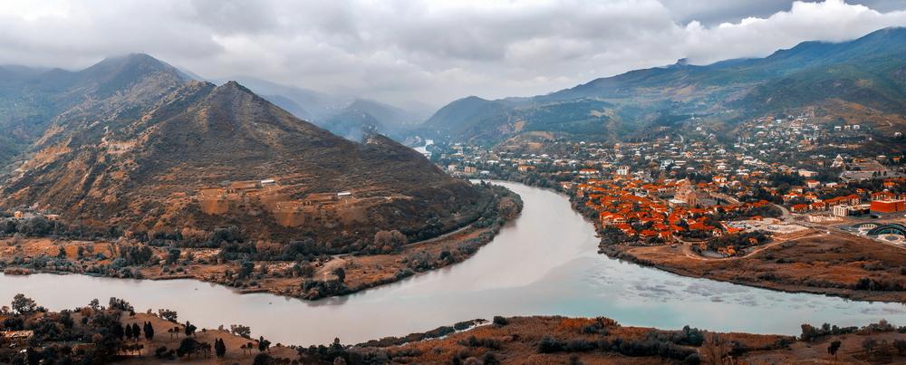 Gruzie řeka