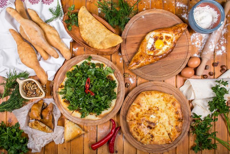 Gruzie jídlo