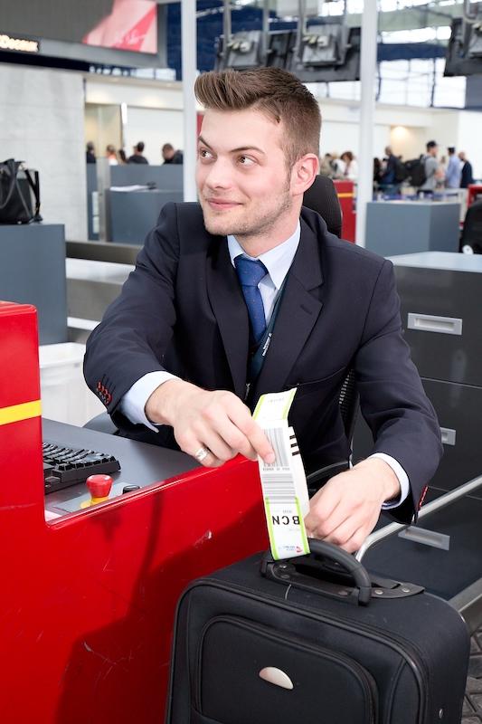 letiště odbavení