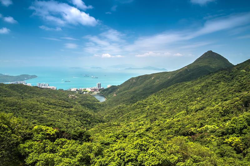 Hongkong příroda