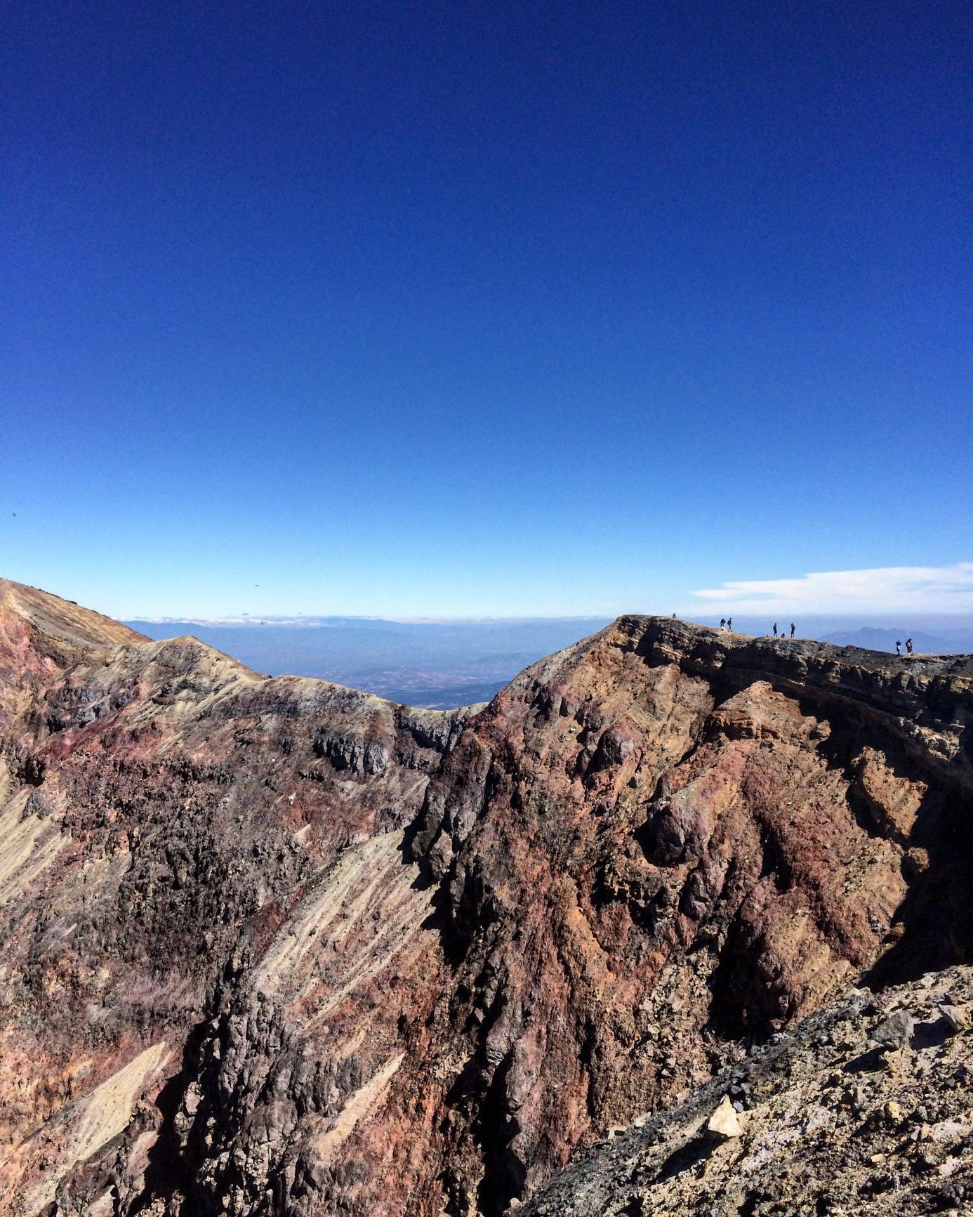 kráter vulkánu Santa Ana