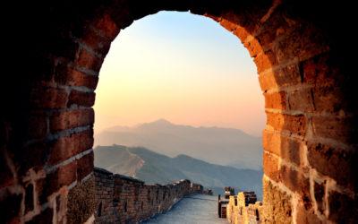Velká čínská zeď. Zde rozhodně nepotkáte davy