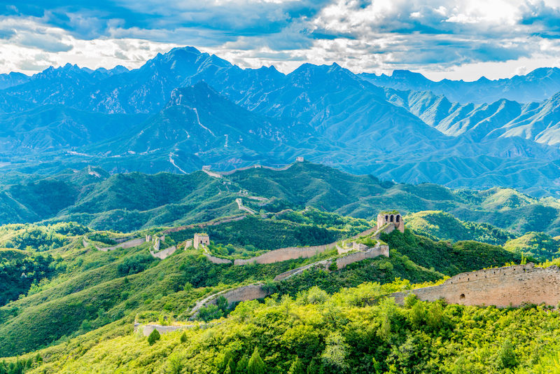 Velká čínská zeď Gubeikou