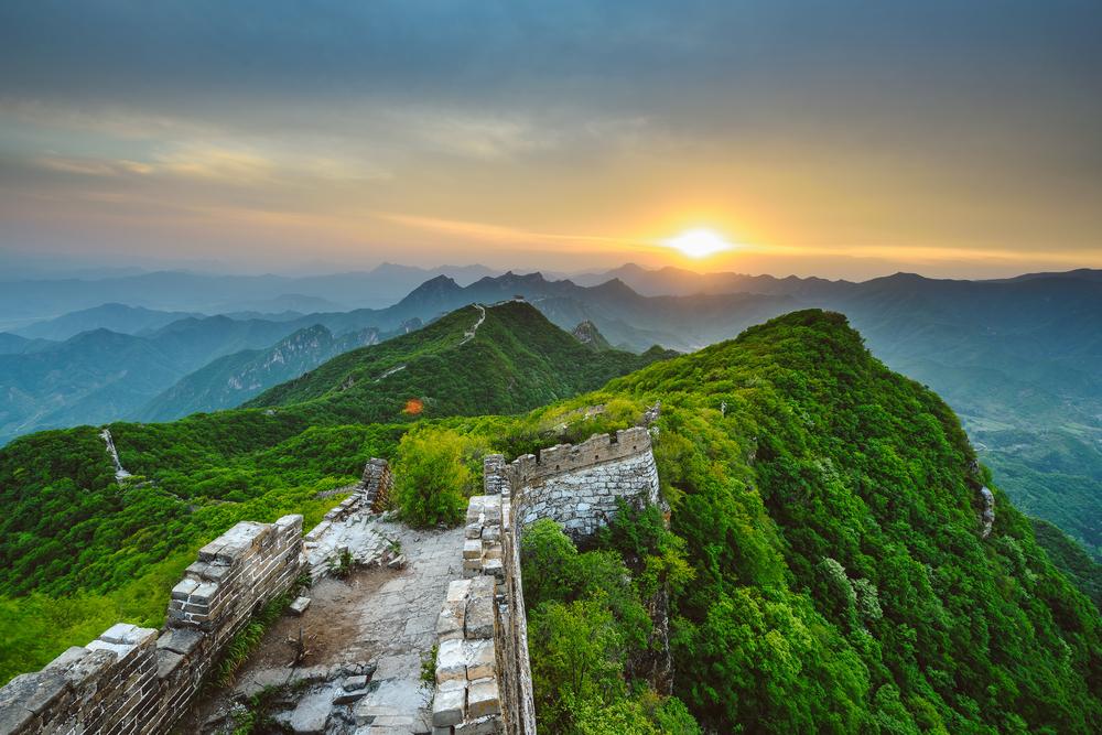 Velká čínská zeď Jiankou