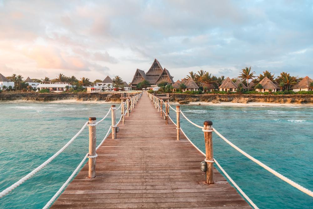 Zanzibar pláže Kendwa