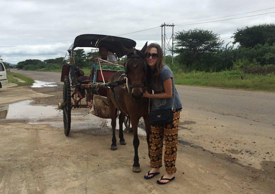 Barma s Radkou na cestách