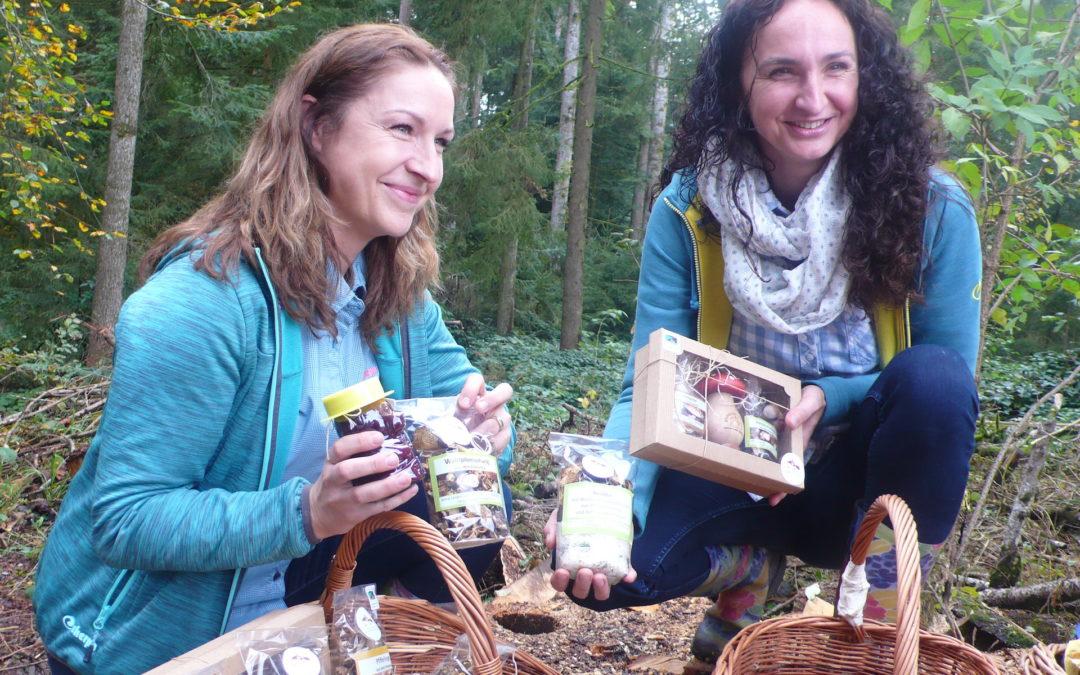 Češky učí Švýcary houbařit
