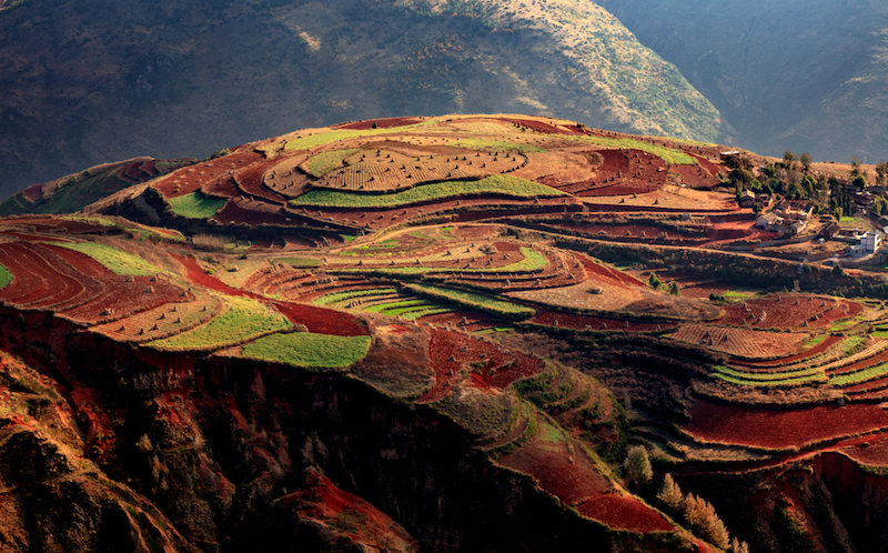 Červená půda v Dongchuan