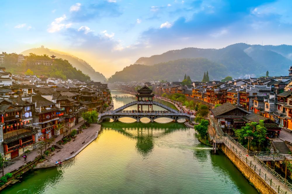 Historické město Fenghuang