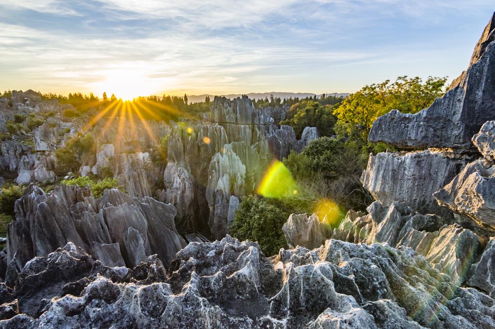 Kamenný les čína