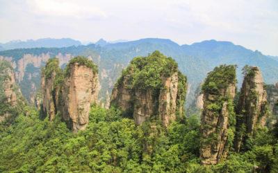 Zhangjiajie: Jak vypadá procházka Avatarskými horami