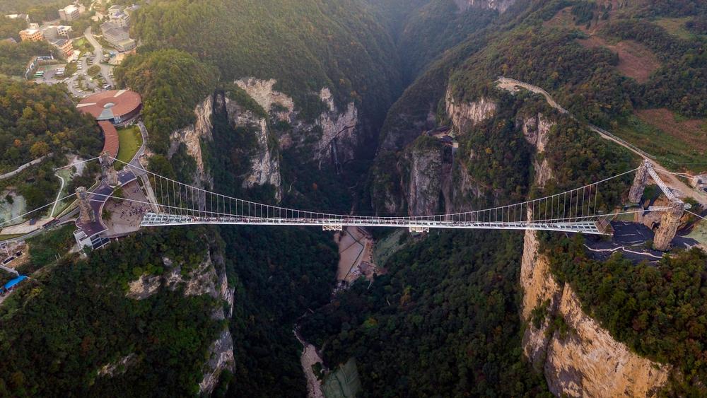 Most přes Zhangjiajie