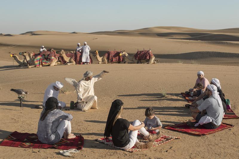 Odpolední pouštní safari v okouzlující Dubaji