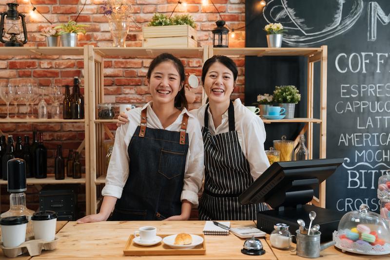 Jižní Korea kavárna