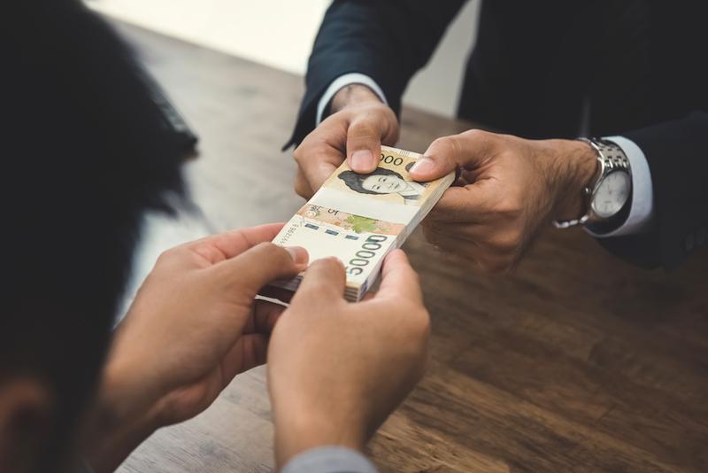 Jižní Korea bankovky