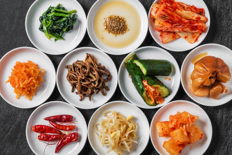Jižní Korea jídlo