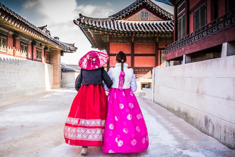 Jižní Korea chrám